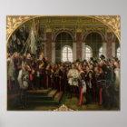 Die Proklamation von Wilhelm Poster