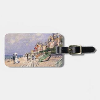 Die Promenade bei Trouville Claude Monet Kofferanhänger