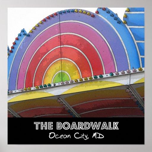 Die Promenade Plakat