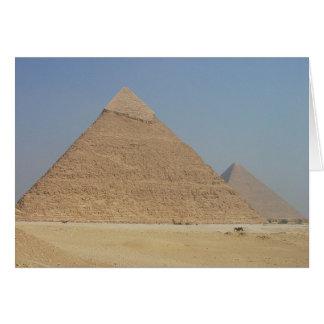 die Pyramide der khafres Karte