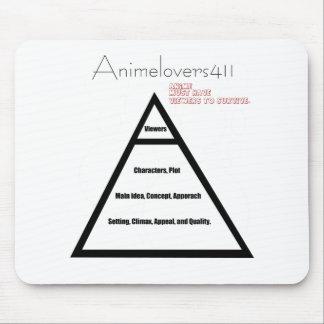 Die Pyramide von Anime Mauspad