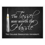 Die Quaste war den Mühe-Uni-Abschluss wert Individuelle Einladung