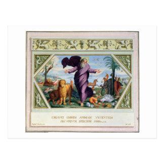 Die RAPHAEL-Bibel: Dreiunddreißig Szenen vom Ol Postkarte
