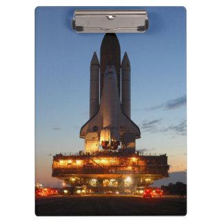 Die Raumfähre-Entdeckungs-Produkteinführung NASA Klemmbrett