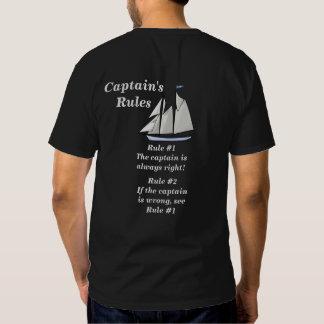 Die Regeln der Kapitäne Hemden