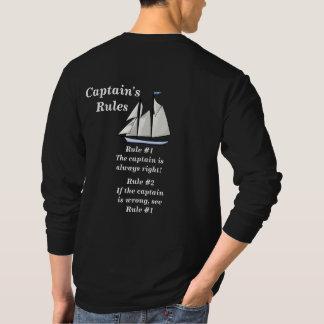 Die Regeln der Kapitäne T-Shirt