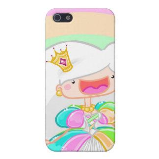 Die Regenbogen-Prinzessin iPhone 5 Schutzhüllen
