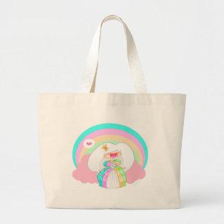 Die Regenbogen-Prinzessin Jumbo Stoffbeutel
