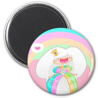 Die Regenbogen-Prinzessin Magnets