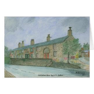 Die Reihe des alten Bergmannes, Smithills, Bolton Karte