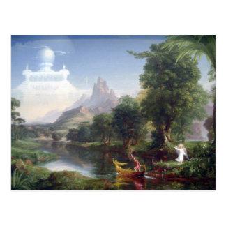 Die Reise des Lebens - Jugend durch ThomasCole Postkarte