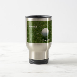 Die Reise-Tasse des Golfspielers Reisebecher