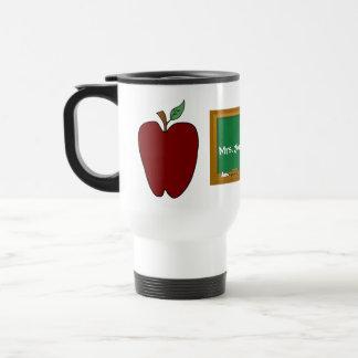 Die Reise-Tasse Land-Apple-Lehrers