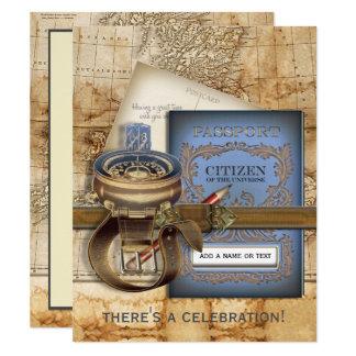 kompass einladungen | zazzle.de, Einladungen