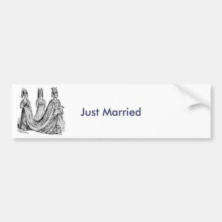 Die Renaissance-Hochzeit Autoaufkleber