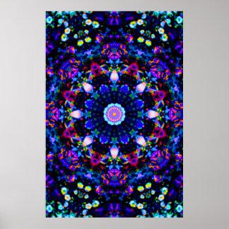 Die Reprise des Himmels des blauen Universums Poster