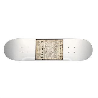 Die Revolution ist jetzt Individuelles Skateboard