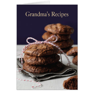 Die Rezepte der Großmutter Karte