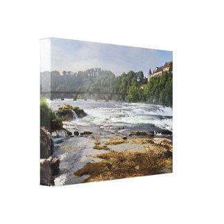 Die Rheinfall Leinwanddruck