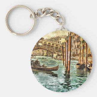 Die Rialto Brücke Schlüsselanhänger