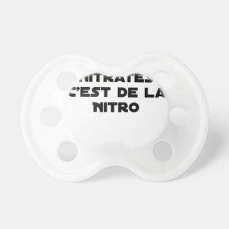 Die Richtlinie Nitrate, ist es von Nitro - Spiele Schnuller