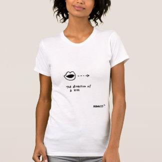 Die Richtung eines Kusses durch Hum&Co T-Shirt