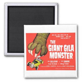 Die riesige Gila-Krustenechse- Magnet Kühlschrankmagnete