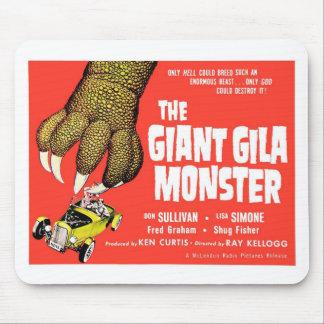 """""""Die riesige Gila-Krustenechse"""" Mousepad"""
