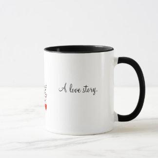 Die romantische Kaffee-Tasse Tasse
