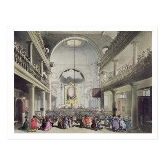 Die römisch-katholische Kapelle, Lincolns Postkarte
