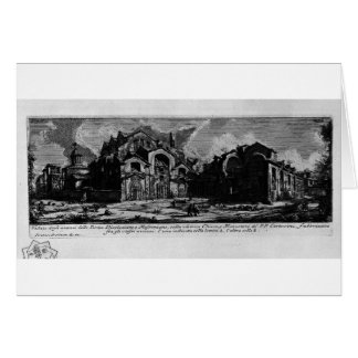 Die römischen Antiquitäten, T. 1, Platte XXVIII. Karte