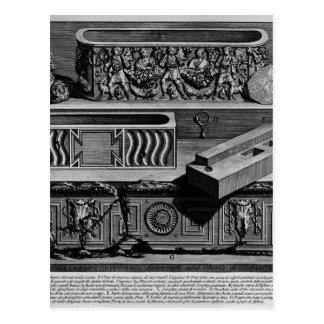 Die römischen Antiquitäten, T. 2, Platte XLV Postkarten
