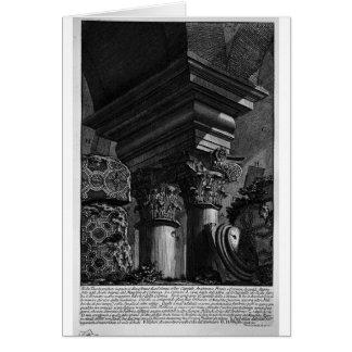 Die römischen Antiquitäten, T. 2, Platte XXIII. Grußkarte
