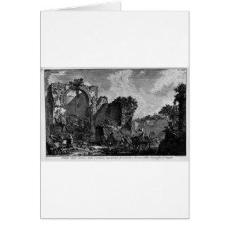 Die römischen Antiquitäten, T. 3, Platte XXII Grußkarte