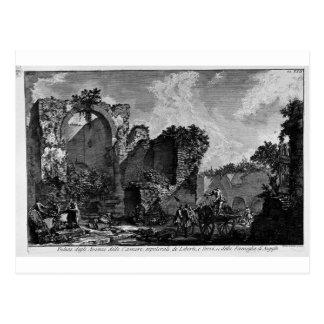 Die römischen Antiquitäten, T. 3, Platte XXII Postkarten