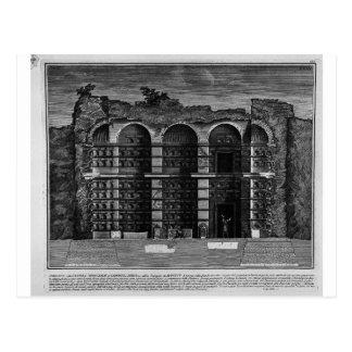 Die römischen Antiquitäten, T. 3, Platte XXIII. Im Postkarte