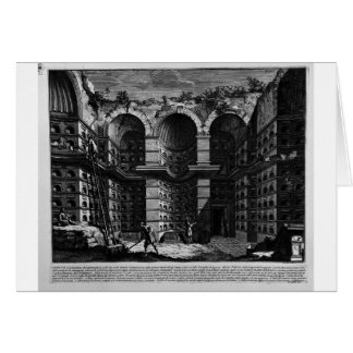Die römischen Antiquitäten, T. 3, Platte XXVI Grußkarte