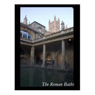Die römischen Bäder, Bad, England Postkarten