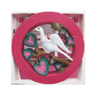 Die rosa Hütte auf Martha's Vineyard Portal-Detail Leinwanddruck