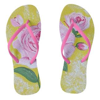 Die Rose drehen Reinfälle um Flip Flops