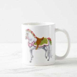 Die Rosen-Parade-PferdeTasse Kaffeetasse