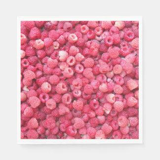 die rote besonders anzufertigen Himbeerschablone Papierserviette