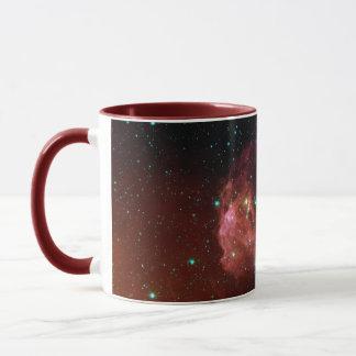 Die rote Himmel-Wolke NASA des Staubes Sig07-006 Tasse