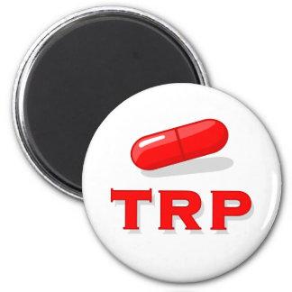 Die rote Pille Runder Magnet 5,1 Cm