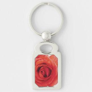 Die Rote Rose der Mammas Schlüsselanhänger