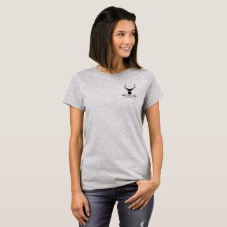Die Rotwild-Nebenfluss-Ranch-T-Stück der Frauen T-Shirt