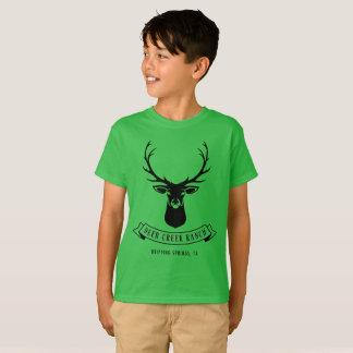 Die Rotwild-Nebenfluss-Ranch-T-Stück des Kindes T-Shirt