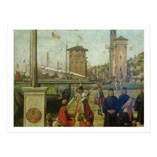 Die Rückkehr der Botschafter, von der St Ursula Postkarte