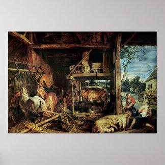 Die Rückkehr des verschwenderischen Sohns, c.1618 Poster