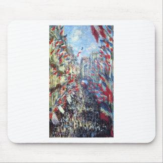 Die Rue Montorgueil, Paris durch Claude Monet Mauspad